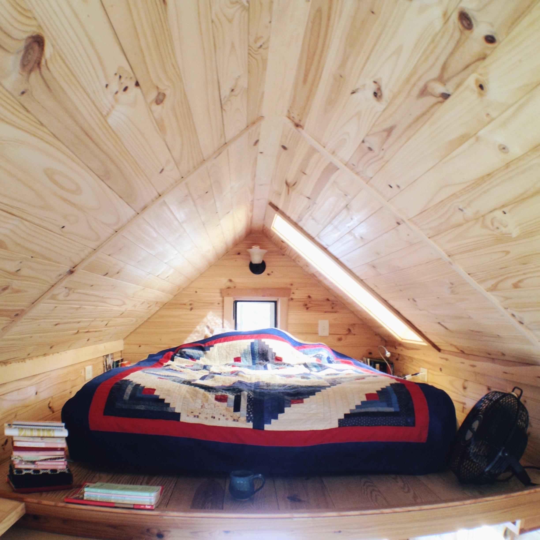 Sleeping quarters in the loft kopie
