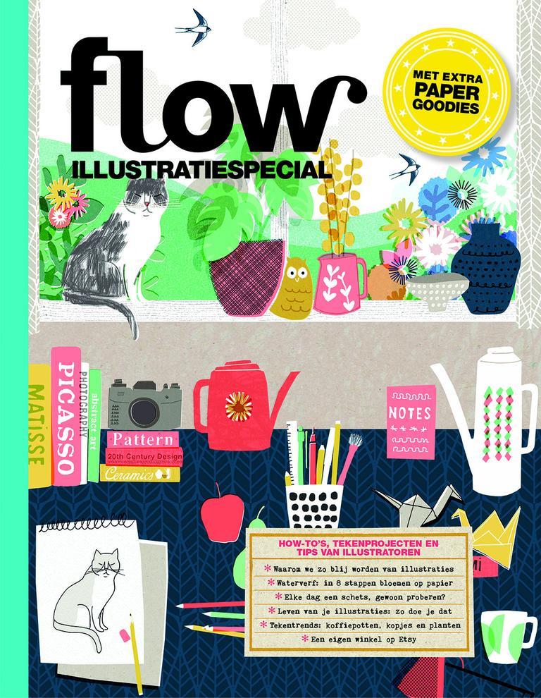 Bladereditie Flow IlluSpecial