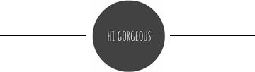 hi gorgeous logo
