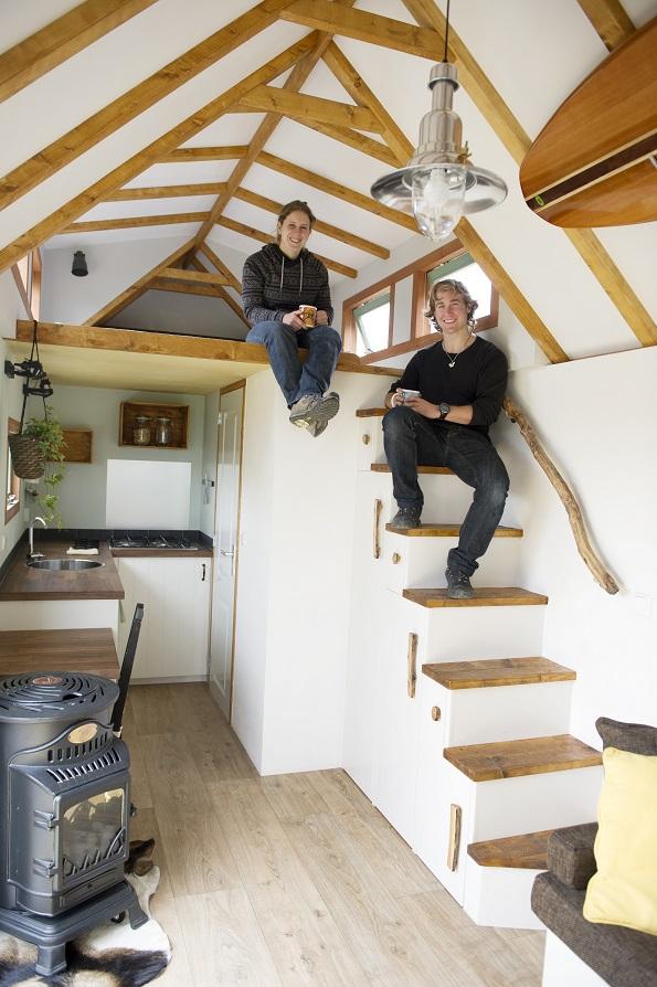 Mini huis voor maxi geluk flow magazine nl for Huis hypotheekvrij maken