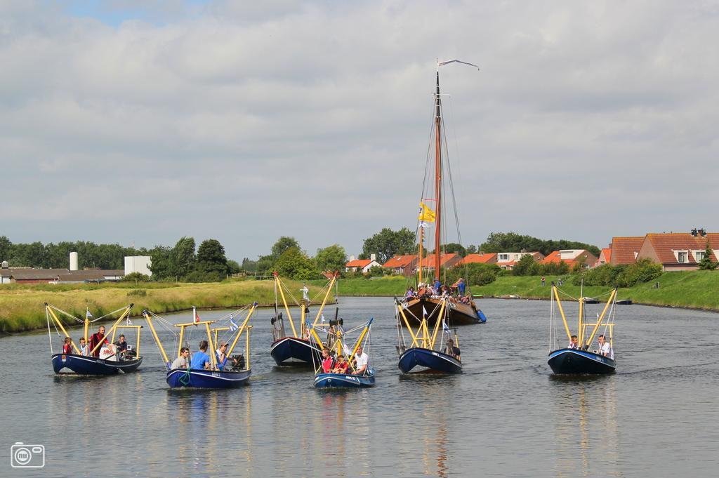 Vissersbootjes Arnemuiden