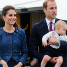William, Kate en George in Australië