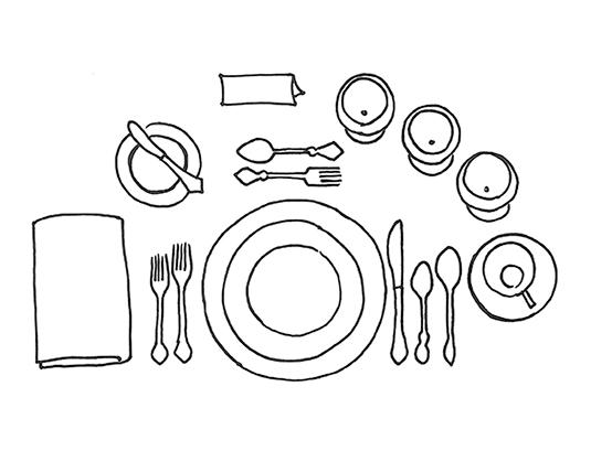 tafel-schikking