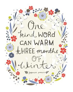 Flora Waycott One Kind Word Quote