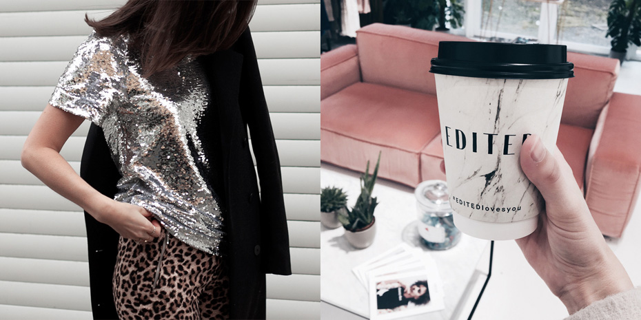 glitter and drinks