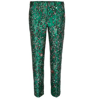 Dames Broeken in Polyester (Groen)