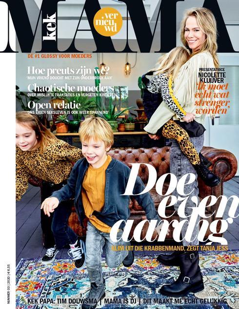 Nicolette Kluijver en Do nieuwe columnisten voor Kek Mama
