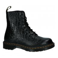 Zwarte Dr. Martens Pascal Croc Stoere Boots