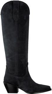 Zwarte Hoge Laarzen Alex Gilly