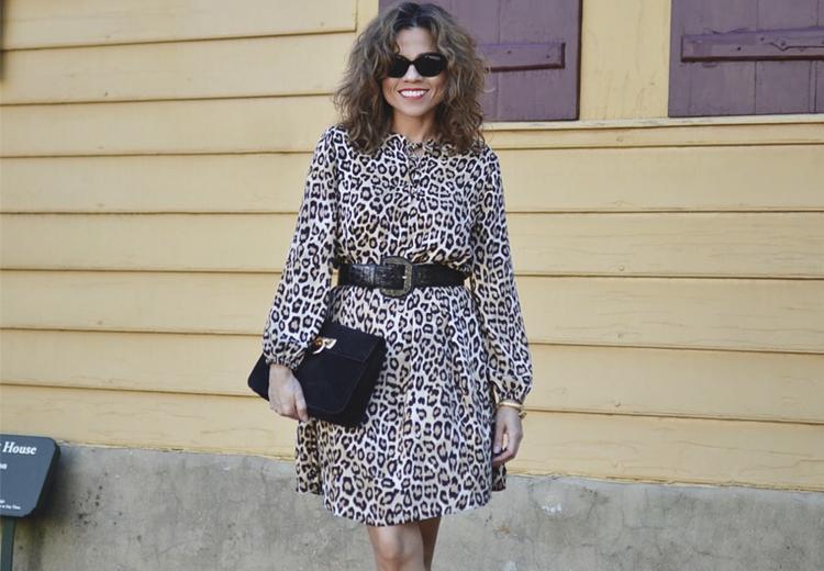 Een grote mode favoriet: de luipaardprint jurk