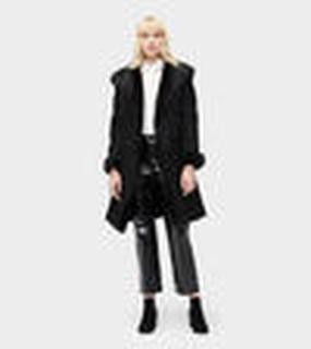 Vanesa Toscana Shearling Coat Dames Black XL