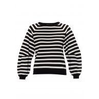 Karen Millen Fijngebreide pullover met streepdessin
