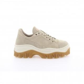 Jaxstar Light Sand Leren Sneaker