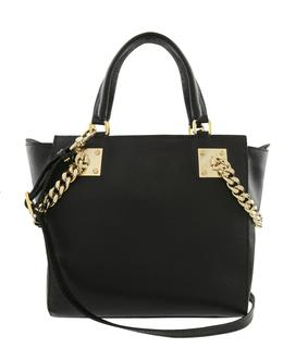 Lucido Preto leather bag