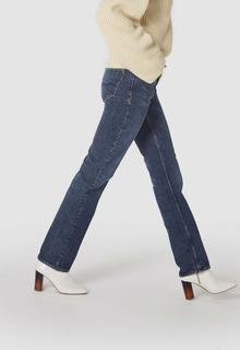 Lucy Dames Jeans Blauw - Straight Fit&High Rise - 24/32