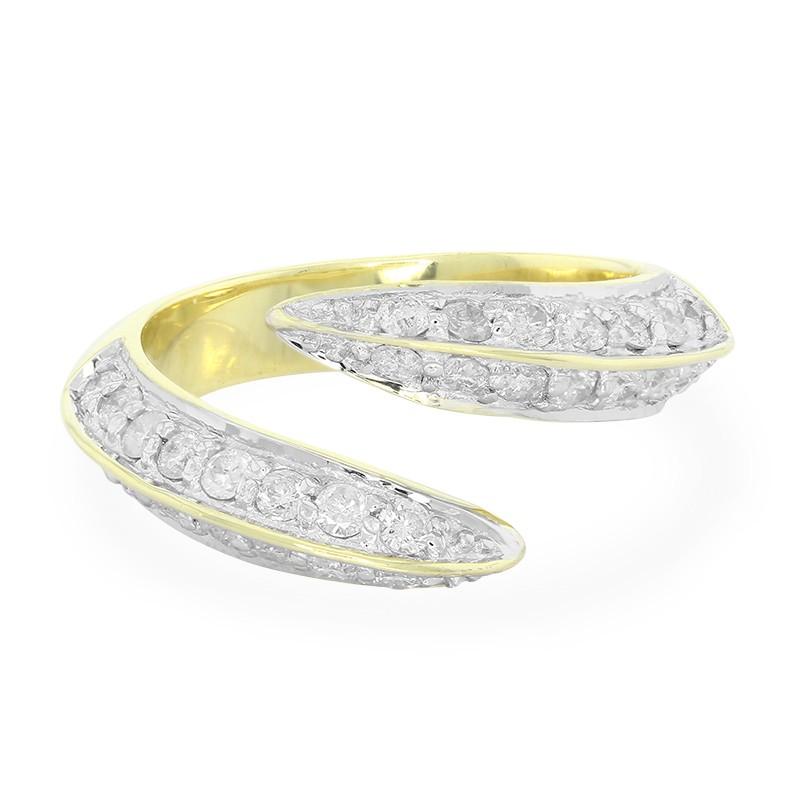 100% Authentiek Goedkoop Online Juwelo Gouden ring met diamanten Hoe Veel 2HTcH