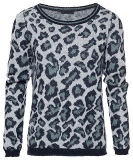 Leopard Trui Mohair