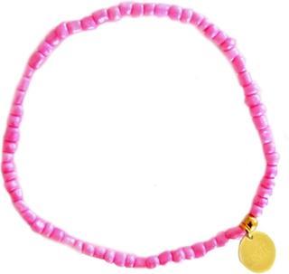 Enkelbandje Elastisch Kraaltjes Ibiza - Roze
