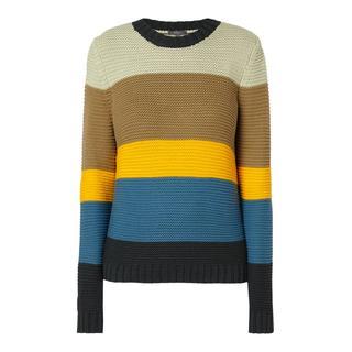 Pullover met blokstrepen