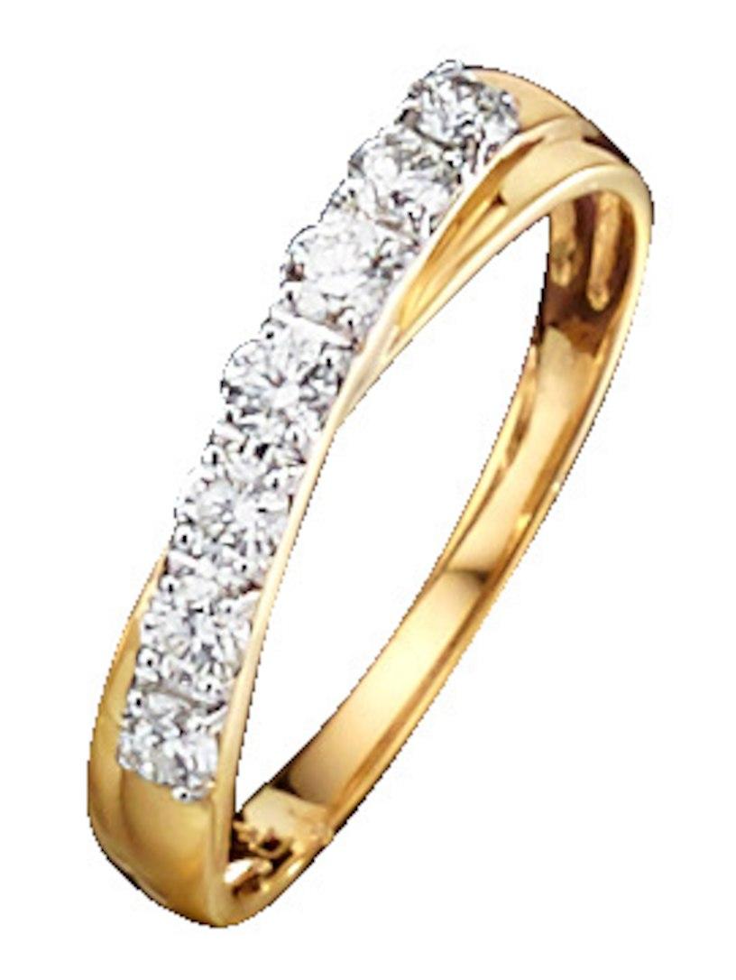 Diemer Diamant Damesring met briljanten geel Te Koop Topkwaliteit Brede Waaier Van Te Koop oprecht Klaring Online Ebay NcWNq