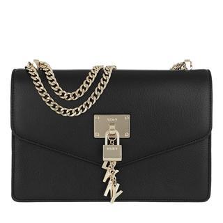 Tasche - Elissa LG Shoulder Bag Black/Gold in zwart voor dames - Gr. LG