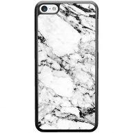 iPhone 5C hoesje - Marmer grijs