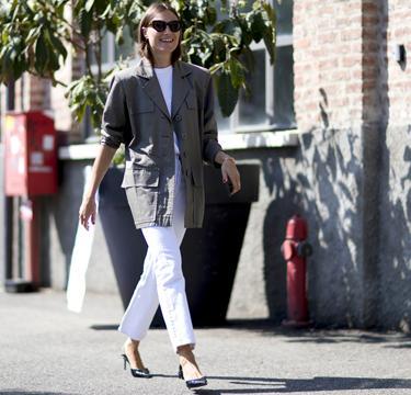 Stijlvol in een witte jeans