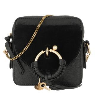 Cross Body Bags - Joan Camera Bag Leather Black in zwart voor dames
