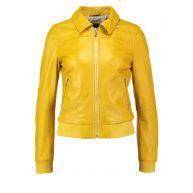 Oakwood Leren jas jaune