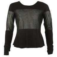 10Days 903 striped sweater black