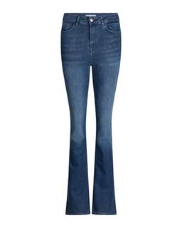 DAMES HIGH RISE FLARE HIGH STRETCH JEANS
