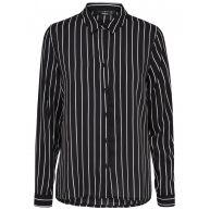 ONLY Print Overhemd Met Lange Mouwen Dames Zwart