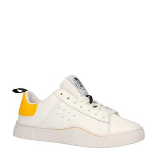 S-CLEVER LOW W sneakers wit/geel