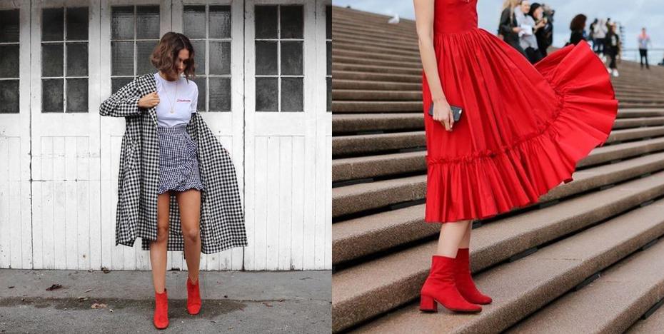 schoenentrends rode boots