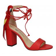 Rode Sandalen met Hoge Hak Katy Perry The Pierra