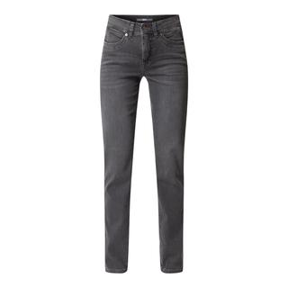 Straight fit jeans met stretch