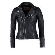 Goosecraft Leren jas black