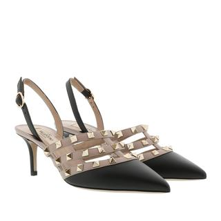 Pumps - Rockstud Pumps Nero/Poudre in zwart voor dames - Gr. 36 (EU)