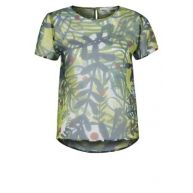 Eleonora Carisi Tshirt basic Groen