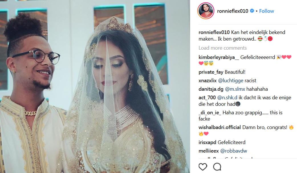 ronneflex getrouwd