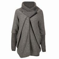 Fashionize - Wollen Jas/Vest Gray