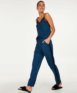 Pyjamabroek woven Blauw