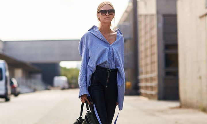 Zó draag je de oversized blouse