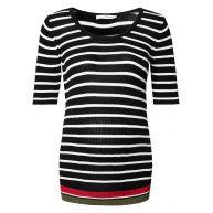 Supermom T-shirt Pepe - Black - Positiekleding
