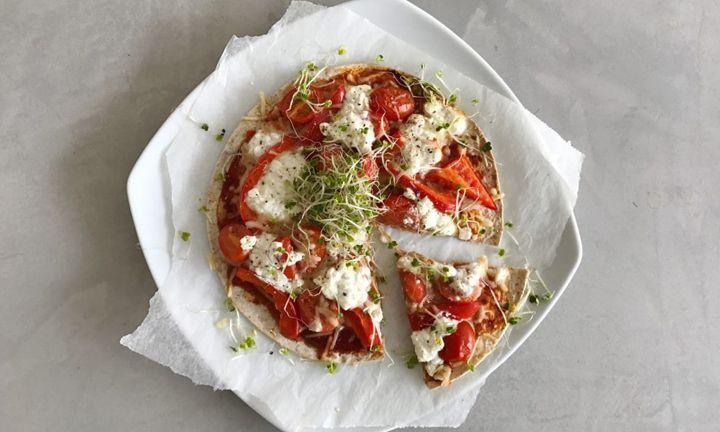 Daisy loves health: gezond & skinny pizza recept