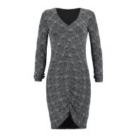 CoolCat Dames Party dress Ndeco Metalic