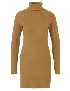 Viril Knit Rollneck Rib Dress - Fav 14049299 Gebreide jurk Ril met col 14049299