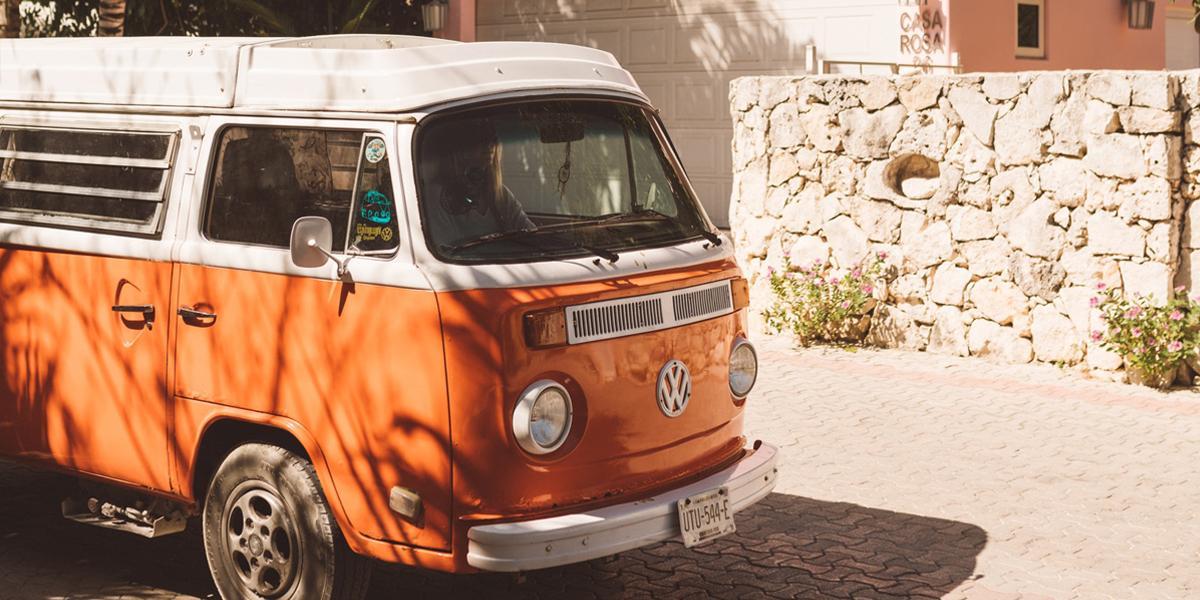camper of bus