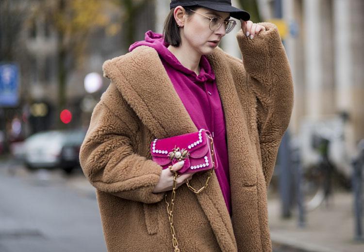 Gespot op straat: de teddy coat op z'n best