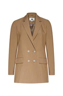 Dames regular fit double breasted blazer